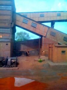 Оранжевая шахта
